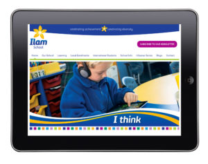 Ilam School Website Christchurch NZ