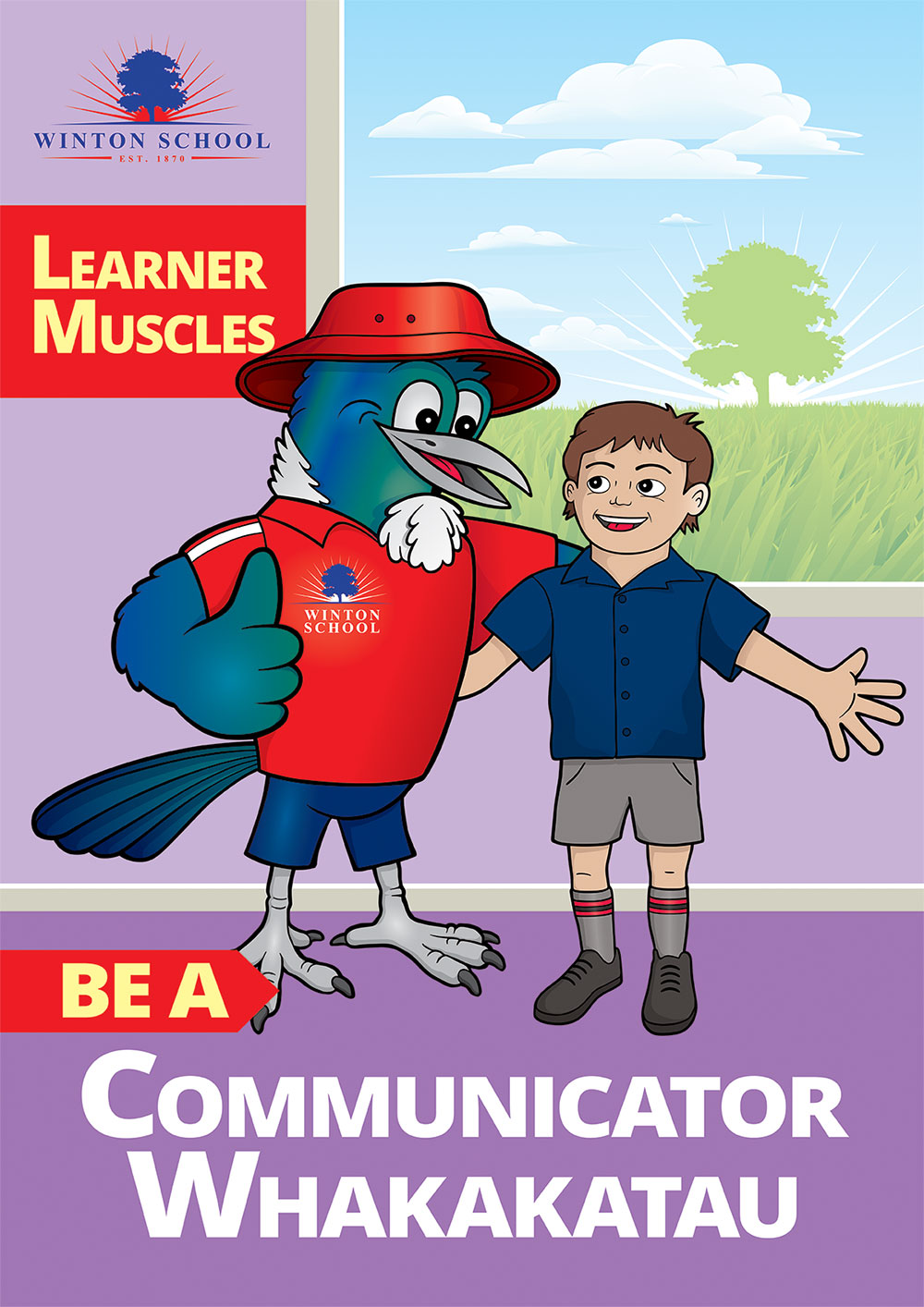 Winton School Communicator Poster Southland NZ
