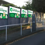 PB4L Values Signs - Riverhills School, Auckland