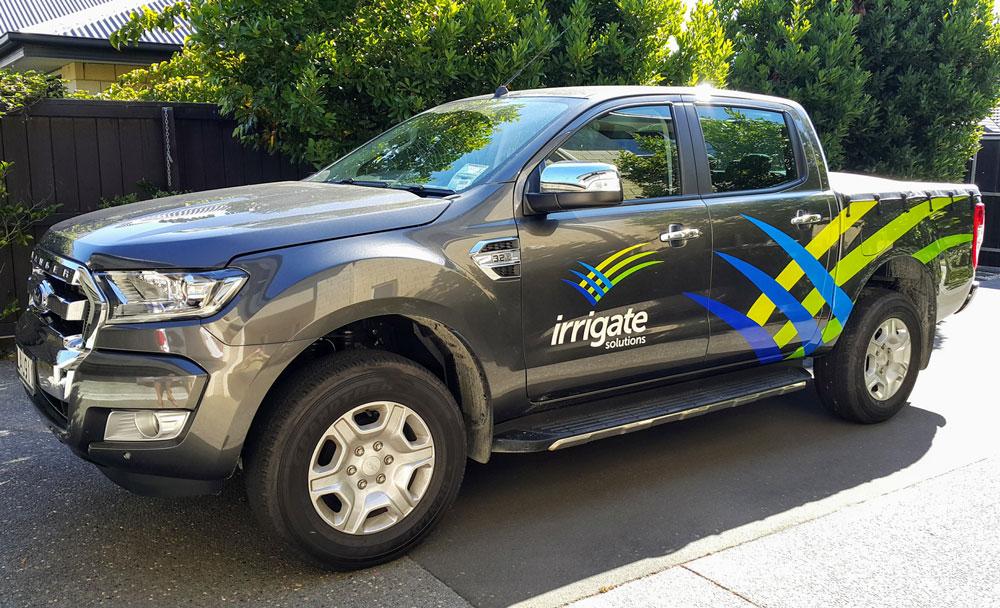 Irrigate-Car-Signage