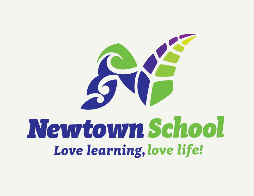 Newtown-School-Logo-design-page