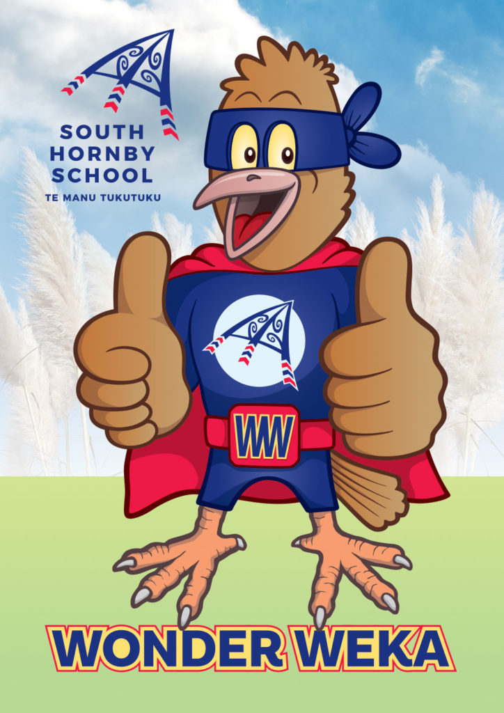 Wonder Weka Mascot South Hornby School Christchurch NZ