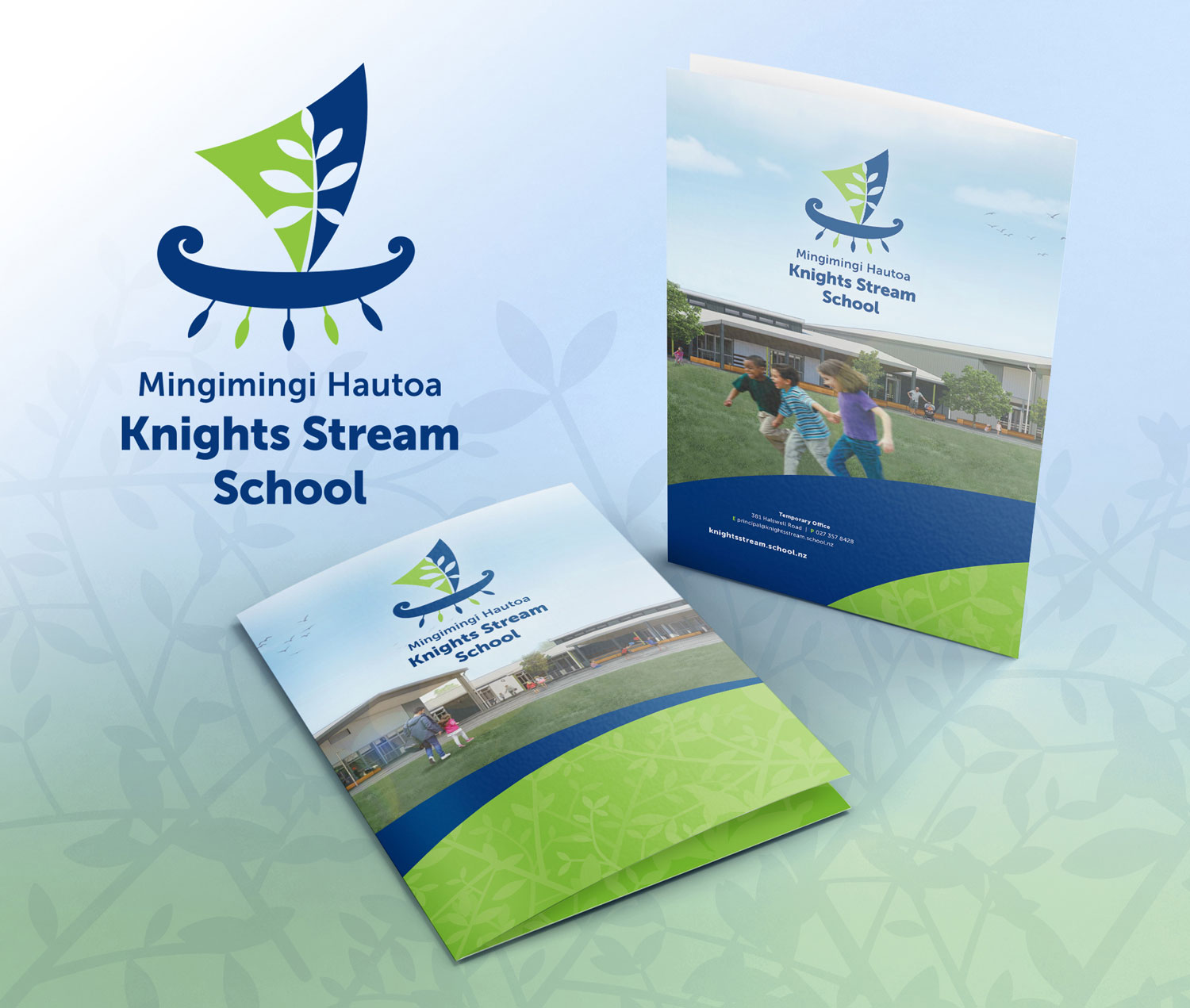 Knights Stream School Enrolment Pack Folder Christchurch NZ