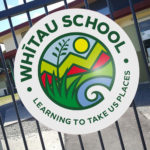 Whitau School Sign Christchurch NZ