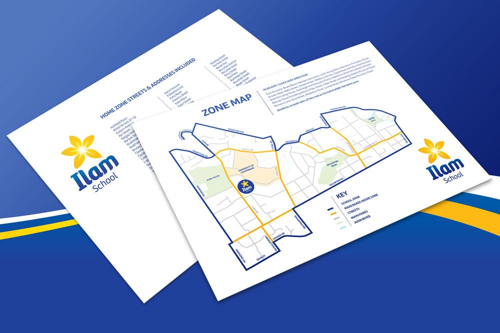 Ilam School Zone Map Christchurch New Zealand