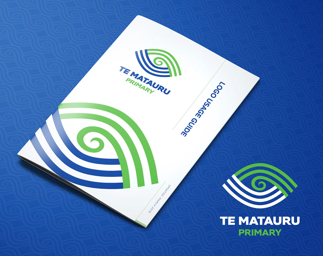 Te Matauru Primary New School Branding Christchurch NZ
