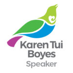 Karen Tui Boyes Speaker Logo Wellington NZ