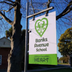 Banks Avenue School PB4L-Sign