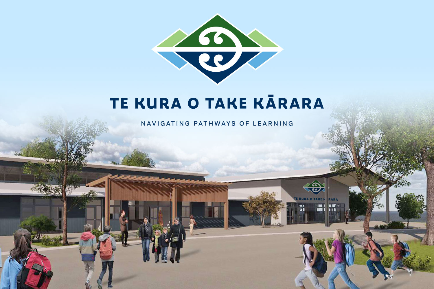 Te Kura O Take Kārara School Branding Wanaka New Zealand