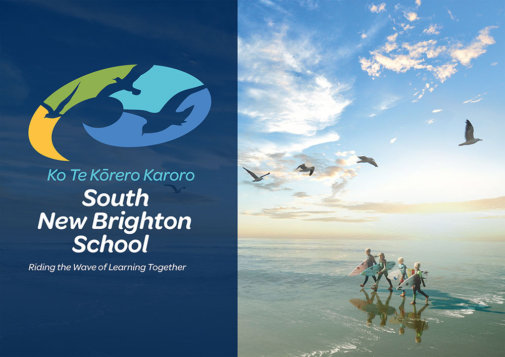 South-New-Brighton-School-Logo-Branding-Christchurch-New-Zealand