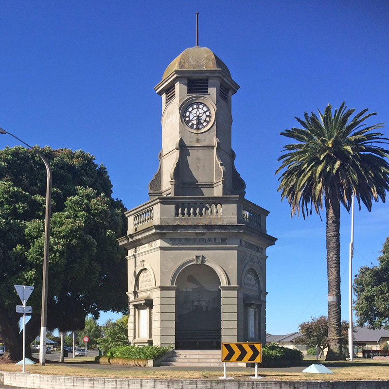 Taradale-Clock-Tower-Hawkes-Bay-New-Zealand
