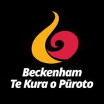 Beckenham-Te-Kura-o-Pūroto-Logo-Reversed-Christchurch-NZ