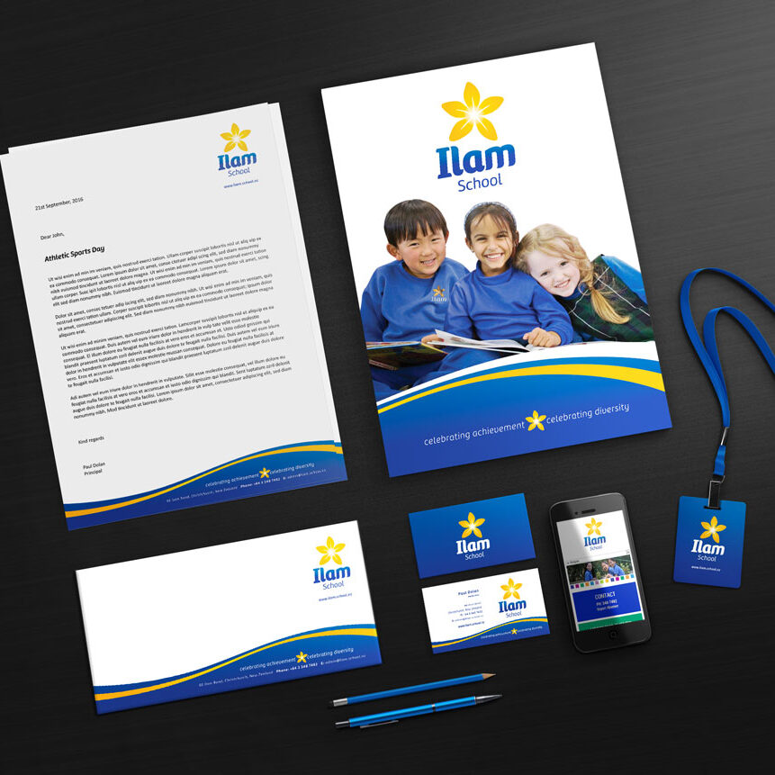 Ilam School Stationery