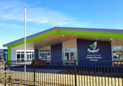 Knights Stream School Signage Christchurch NZ