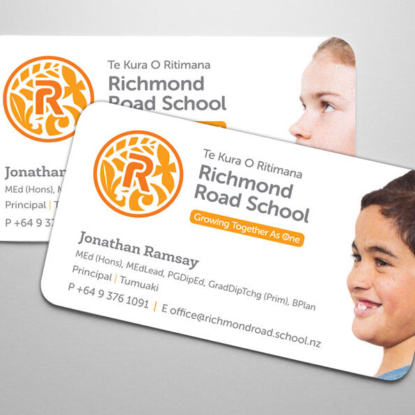 Richmond-Road-School-Business-Cards