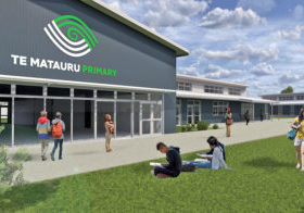 Te Matauru Primary New School Build Branding New Zealand