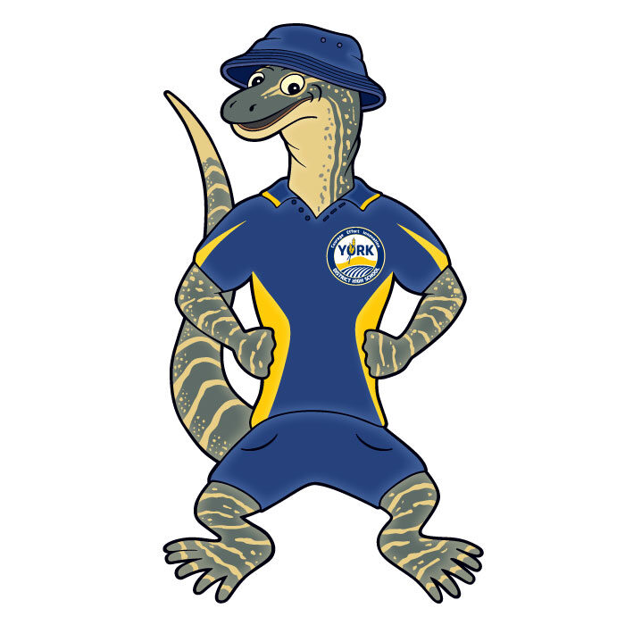 York District High School Mascot - Perth Western Australia